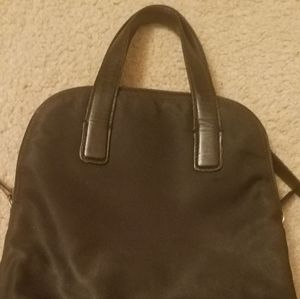 Coach women's black back pack